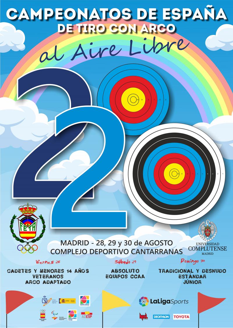 CAMPEONATOS DE ESPAÑA AL AIRE LIBRE - MADRID 2020 - Inscríbete