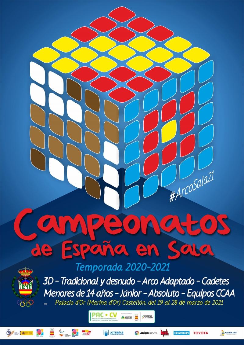 CAMPEONATOS DE ESPAÑA EN SALA - MARINA D'OR 2021 - Inscríbete